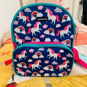 Crocodile creek unicorn backpack